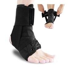 Protège-cheville sport avec Protection, sangles respirantes pour les chevilles, Protection en sécurité et ajustable pour les Supports, Protection contre les pansements aux pieds