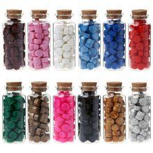 65 pièces cire à cacheter octogone perles pour rétro sceau timbre multicolore enveloppe de mariage Invitation carte bricolage décor
