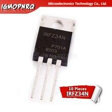 10pcs IRFZ34N FZ34 IRFZ34NPBF MOSFET MOSFT 55V 26A 40mOhm 22.7nC TO-220 new original