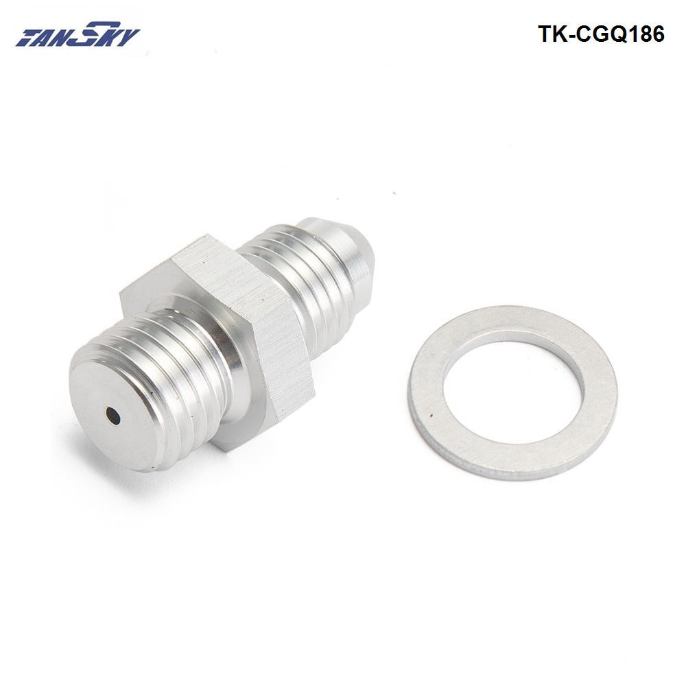 Adaptador de alimentación de aceite M12x1.5 para Volvo TD04H TD04HL 1,5mm RestricorTK-CGQ186