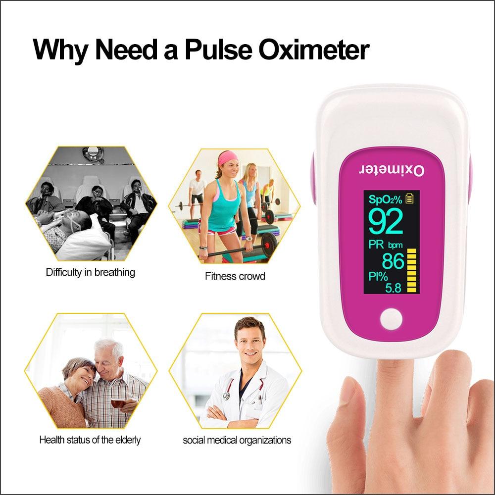 RZ Portable Finger Oximeter Household Health Monitors Oximeter Pulsioximetro Heart Rate Fingertip PR SPO2 Meter Pulse Oximeter