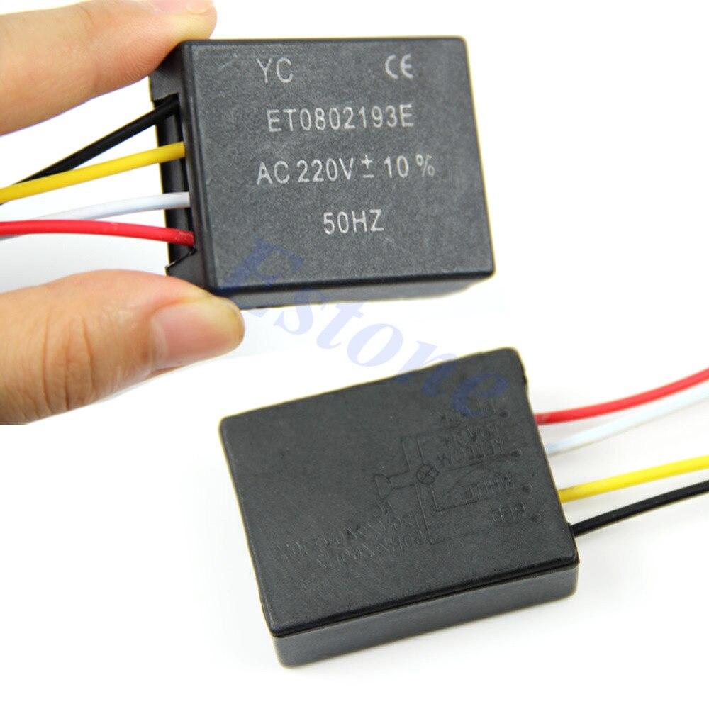 Interruptor da lâmpada da lâmpada do sensor de controle do toque de 1 maneira
