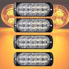 Castaleca 4X Ultra camion voiture   12 led, feux stroboscopiques, 19 motifs de flash appliqués au Signal, feu de jour, feu de brouillard