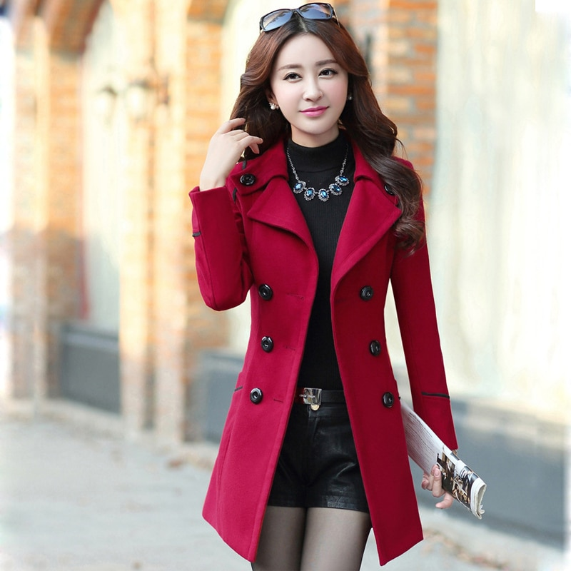 Abrigo largo de invierno para mujer, gabardina de talla grande para mujer, ropa informal 2019, abrigo femenino para invierno 2019
