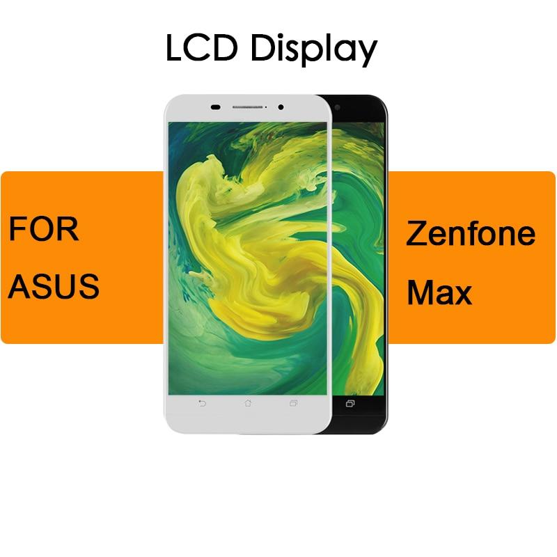 Para Asus Zenfone Max ZC550KL pantalla LCD reemplazo de montaje de pantalla táctil con marco 5,5 y #1280*720 + herramienta gratuita