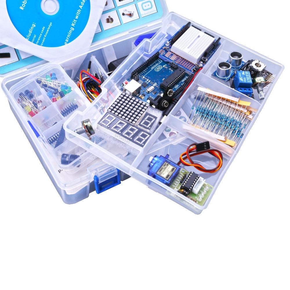 Ultimate Starter Kit для Arduino, включая ультразву
