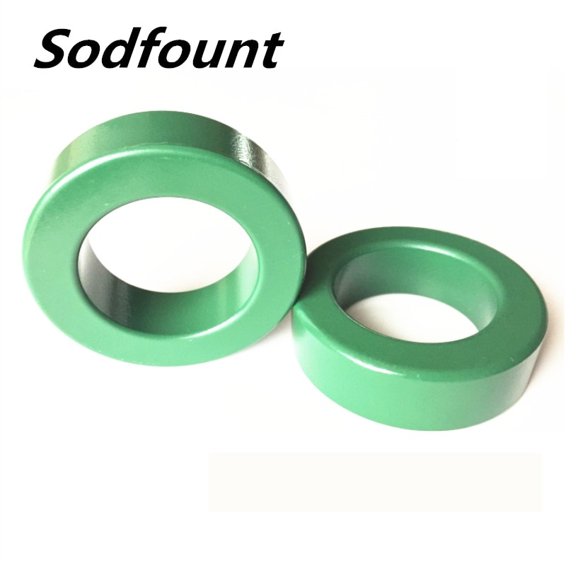 1 pces mn-zn verde ferrite anel 65*38*20mm anti-interferência núcleo magnético inversor de alta condutividade servo indutor