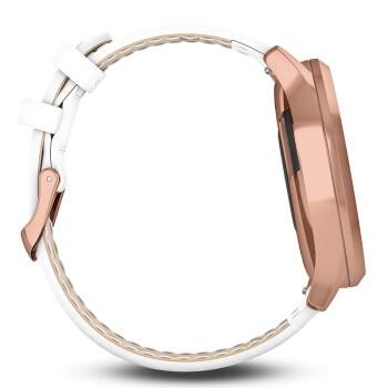 GARMIN vivomove HR High Quality Women white Italy Leather Waterproof Ladies Watch Women digital Clock  Fashion Women's Watches enlarge