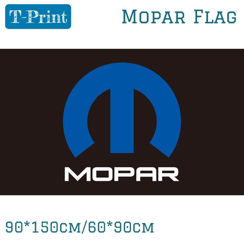 90*150 cm 60*90 cm bandera Mopar poliéster Banner para la decoración del hogar de la Oficina del evento de carreras