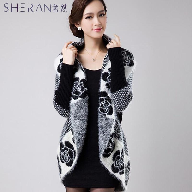 Suéter de mujer pull femme Batwing Sleeve shawl de talla grande Slim knit femme cardigan chaquetas 2017 mujeres primavera otoño cardigans