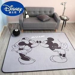 Disney mickey minnie mouse tapete criança bebê rastejando tapete de jogo coral velo interior bem-vindo macio quatro temporada caçoa a esteira presente