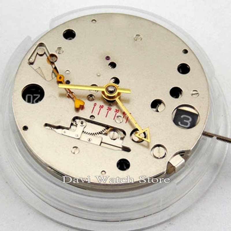 Мужские часы Seagull, автоматические механические часы с датой GMT 2533