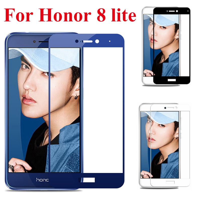 Закаленное стекло для huawei honor 8 lite, Защитное стекло для экрана honor p8 p9 lite 2017, покрытие honor 8 light honor8 8 lite, пленка glas