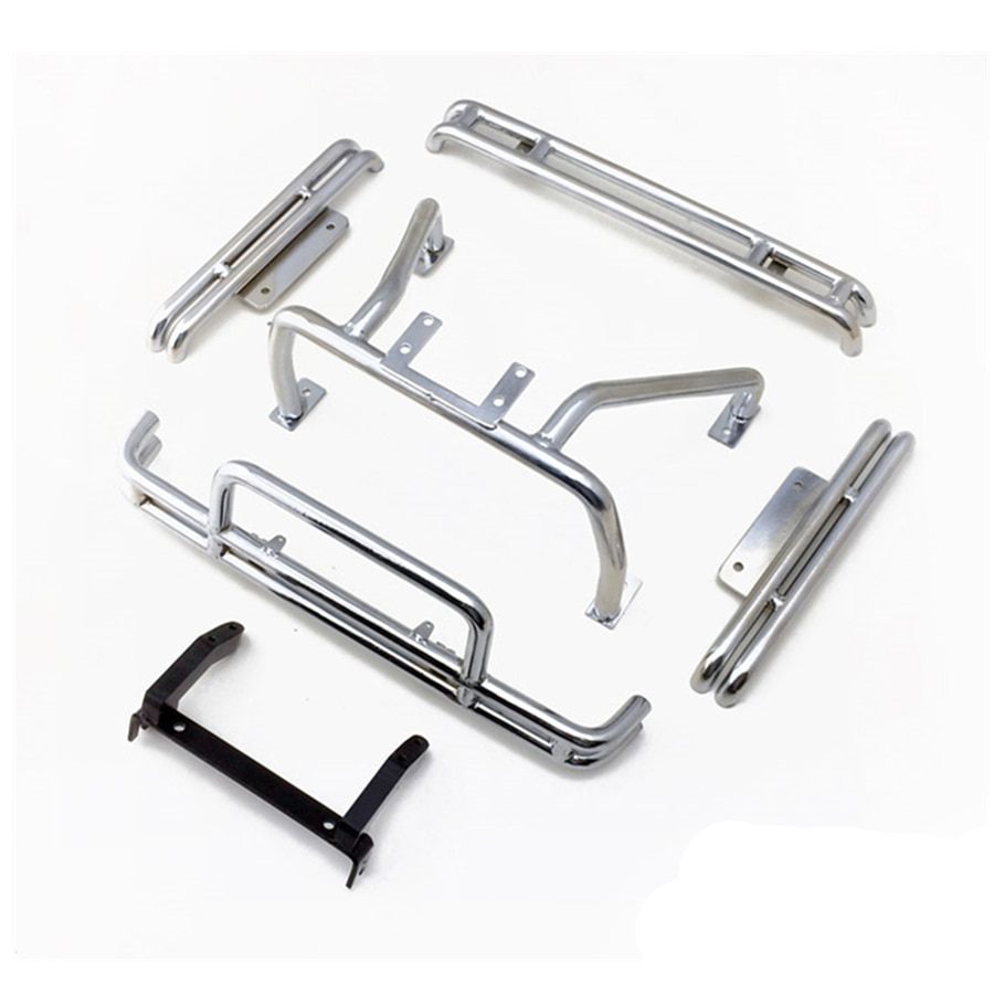 1/10 RC CAR Metal Bumper W/ Roll Cage Fit For 1:10 Scale Rock Crawler Toys Model Pickup Tamiya BRUISER Upgrade Accessories Parts