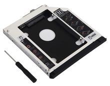 12.7 مللي متر 2nd SSD HDD القرص الصلب العلبة ل HP EliteBook 6930p 8440p 8530p 8540p 8740 p 8540 واط 8730 واط واط