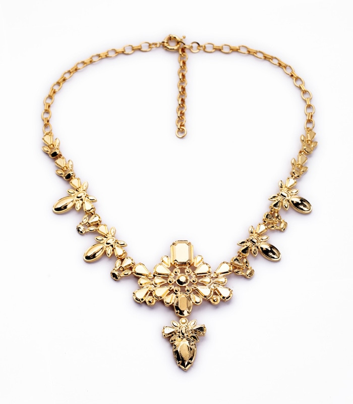 Collar a la moda para mujer, nuevo collar con colgante dorado para mujer, N1103