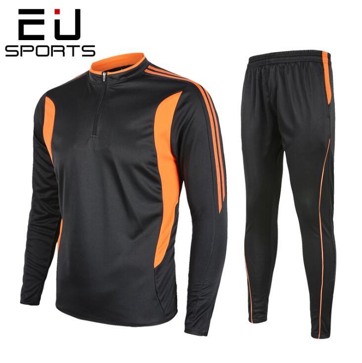 Ropa de fútbol de manga larga para hombre de otoño e invierno, ropa de entrenamiento fútbol, chándal para correr, sudadera de fútbol, ropa deportiva para fútbol