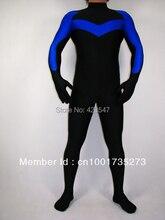 Black & blue DC Comics Nightwing Spandex Superhero Costume Halloween costumes