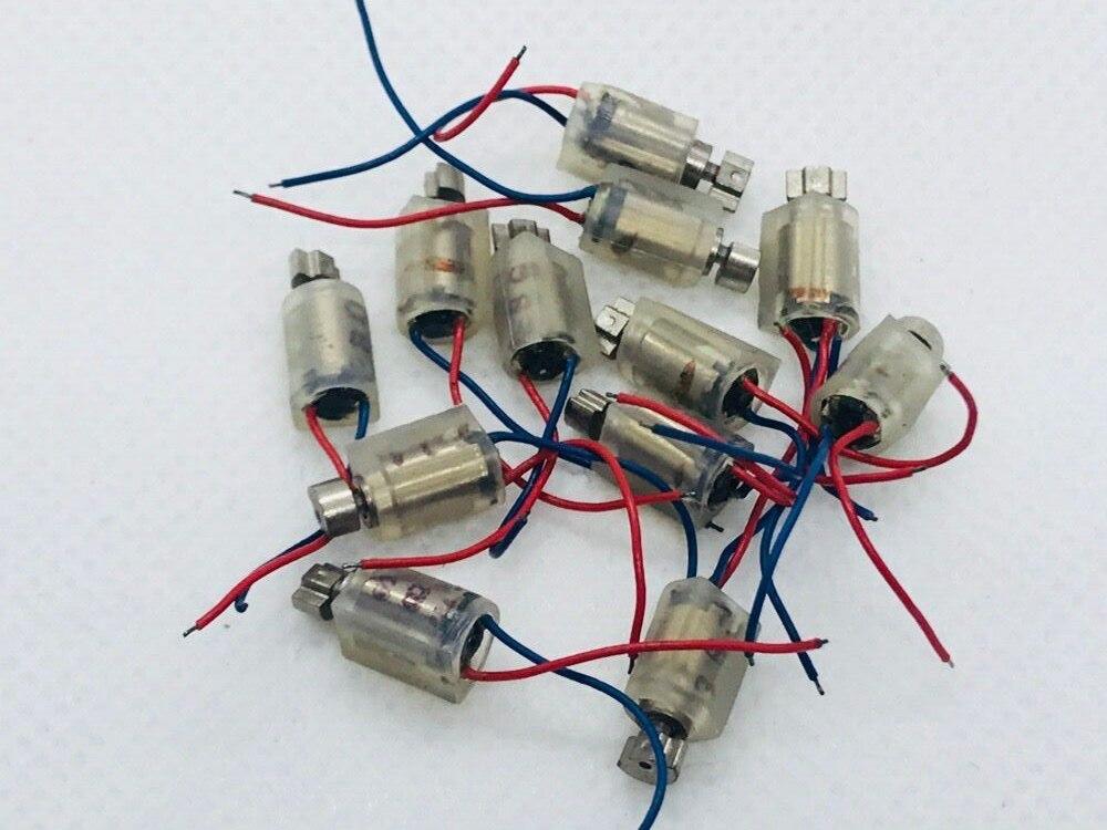 DC 1,5 ~ 3V 0408 a prueba de agua 0510 máquina eléctrica Bluetooth Tablet con Panel masajeador Mini Micro Motor de vibración Smartphone FPC PCB