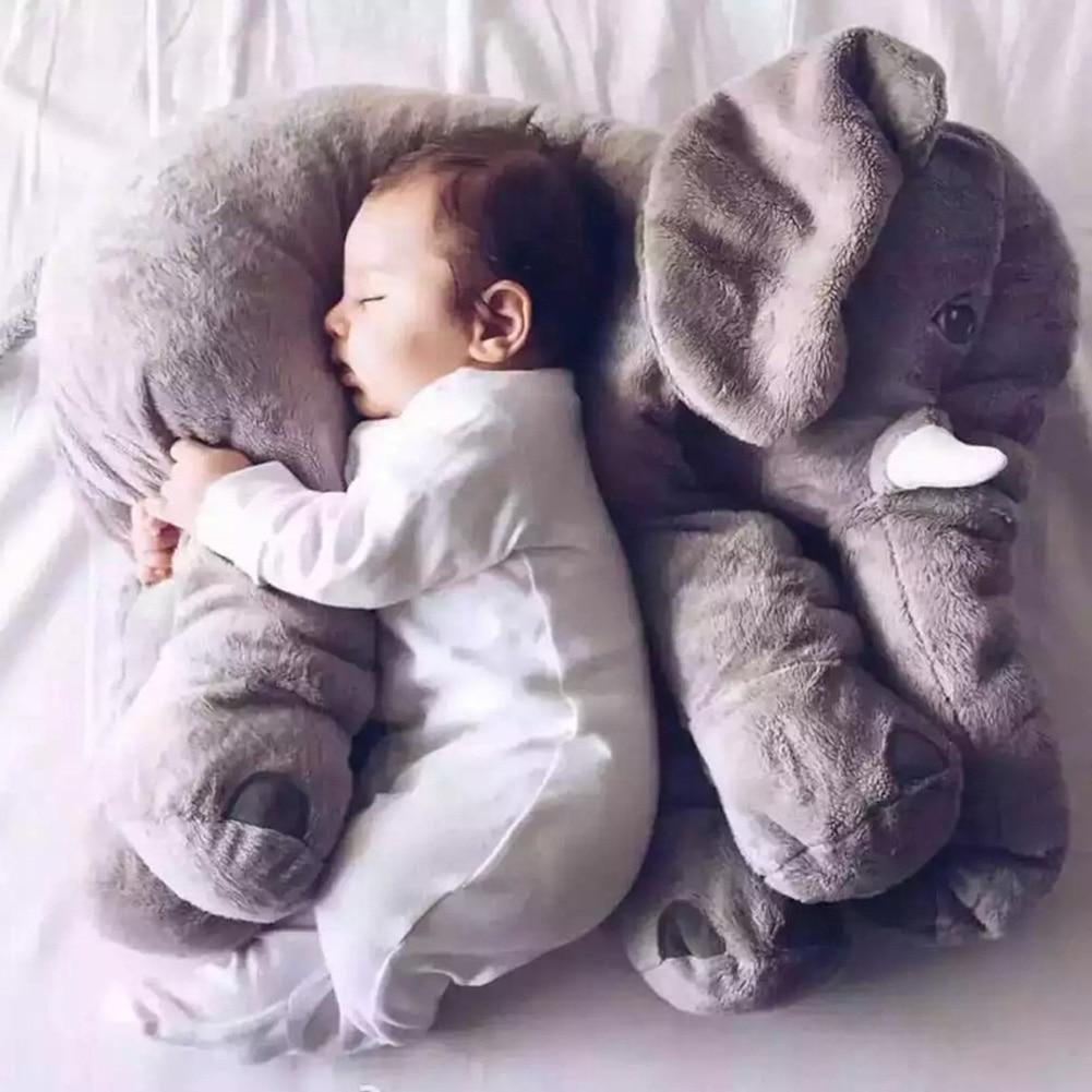 Большая плюшевая игрушка 65 см, супер мягкая детская подушка для сна, слона, подарок на день рождения, плюшевые игрушки для детей, мягкая кукла