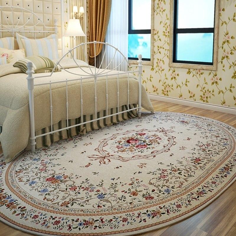 Американский пастырский Овальный ковер и ковры для дома, гостиной, деревенский ковер для спальни, дивана, журнального столика, напольный ко...