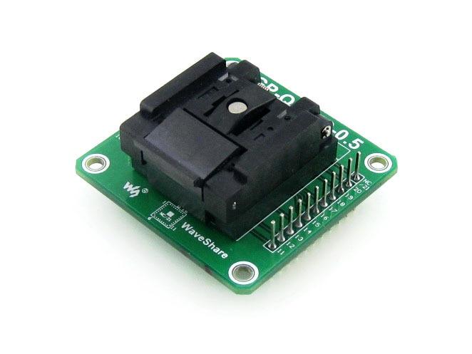 GP-QFN20-0.5-B # QFN20 MLF20 MLP20 QFN-20BT-0.5-01 Enplas IC adaptateur de programmation de prise de Test pas de 0.5mm