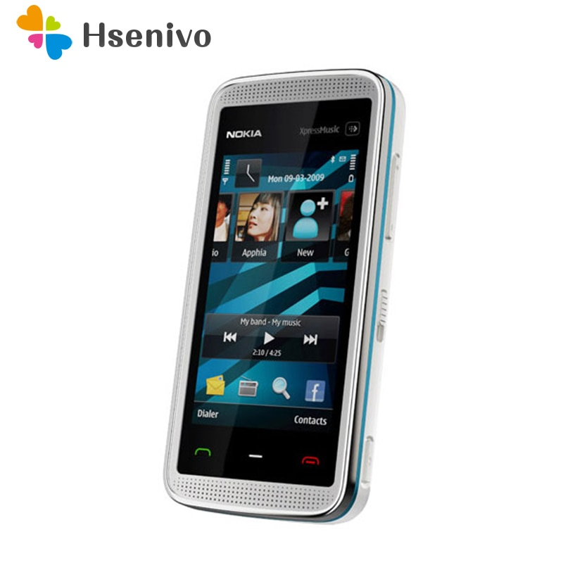 5530 100% Original Nokia 5530 XpressMusic original phone unlocked quad band FM Radio GSM Symbian cellphone refurbished
