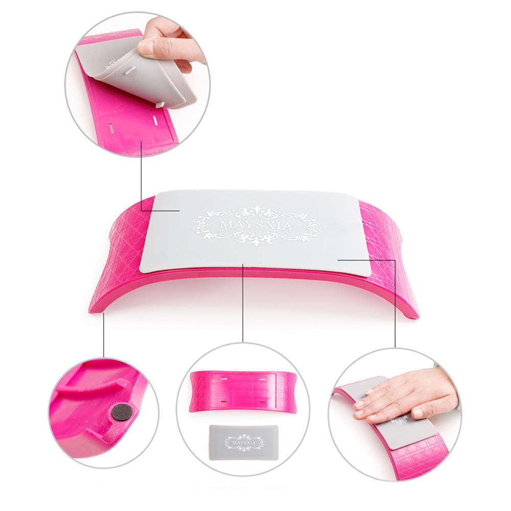 Repose-mains Silicone Nail Art coussin oreiller main support coussin Table Nail Art Salon ongles conception manucure outil équipement