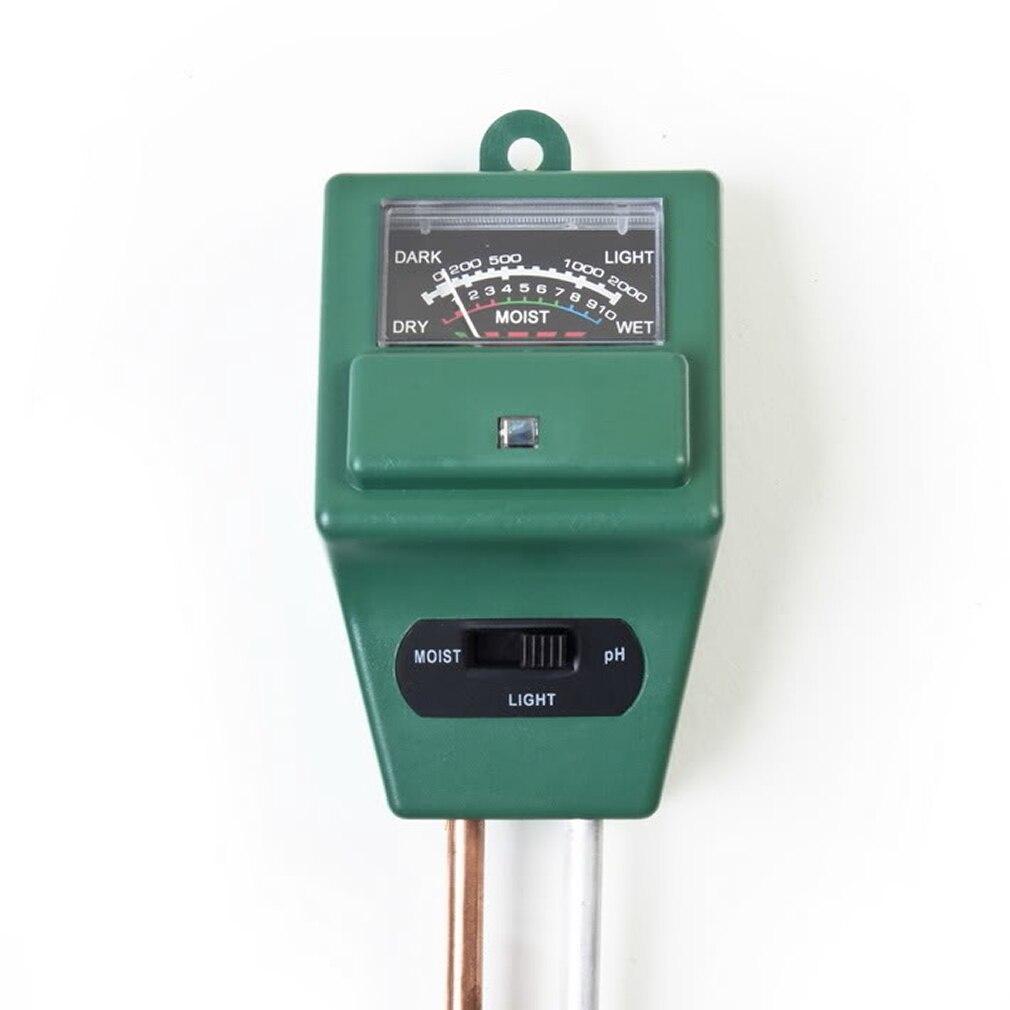 3 в 1 PH тестер почвы вода Влага Свет тест-метр Датчик для сада растений цветок почвы детектор