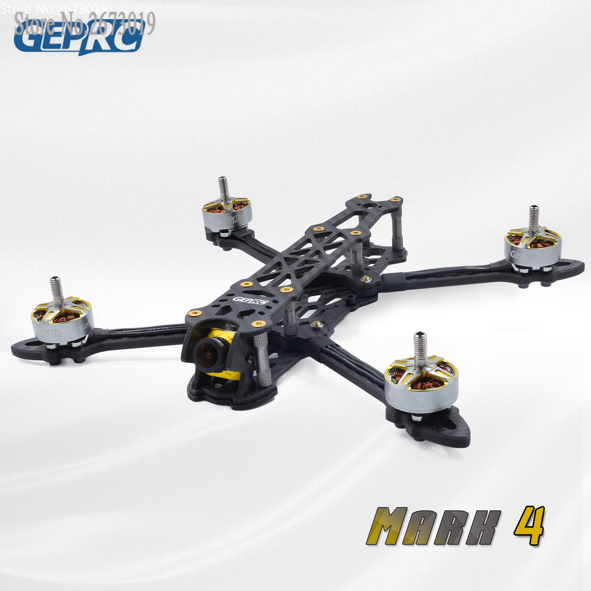 Рама для гоночного дрона GEPRC Mark 4 FPV, 5 /6/7 , рама для квадрокоптера 5 мм, кронштейн с крепежными отверстиями 30,5*30,5/20*20 мм для FC