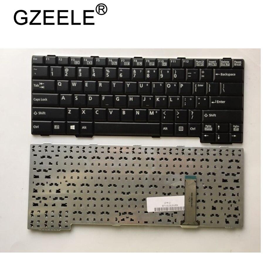 Клавиатура GZEELE для Fujistu E751 E752 S752 S761 S762 S560 S760 E741 MG/G70, английская клавиатура для ноутбука, версия США, Черная