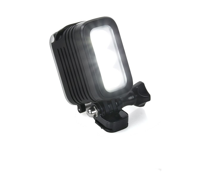 LED impermeable LED Luz de relleno para flash lámpara de punto para Gopro héroe 8 7 6 5 4 3 sesiones SJCAM Xiaomi Yi DSLR Cámara
