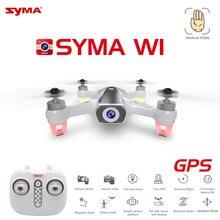 Plus récent Syma W1 Drone GPS 5G WiFi FPV avec 1080P HD caméra réglable suivant moi Mode gestes RC quadrirotor vs F11 SG906 Dron