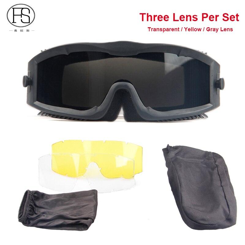 Армейские военные солнцезащитные очки тактические виды деятельности использование анти-лягушка ветрозащитные Пуленепробиваемые защитны...