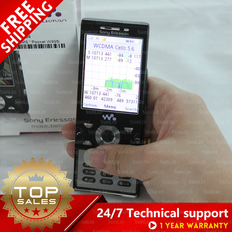 W995 W995A drive test  phone Support PESQ MOS & TEMS pocket enlarge