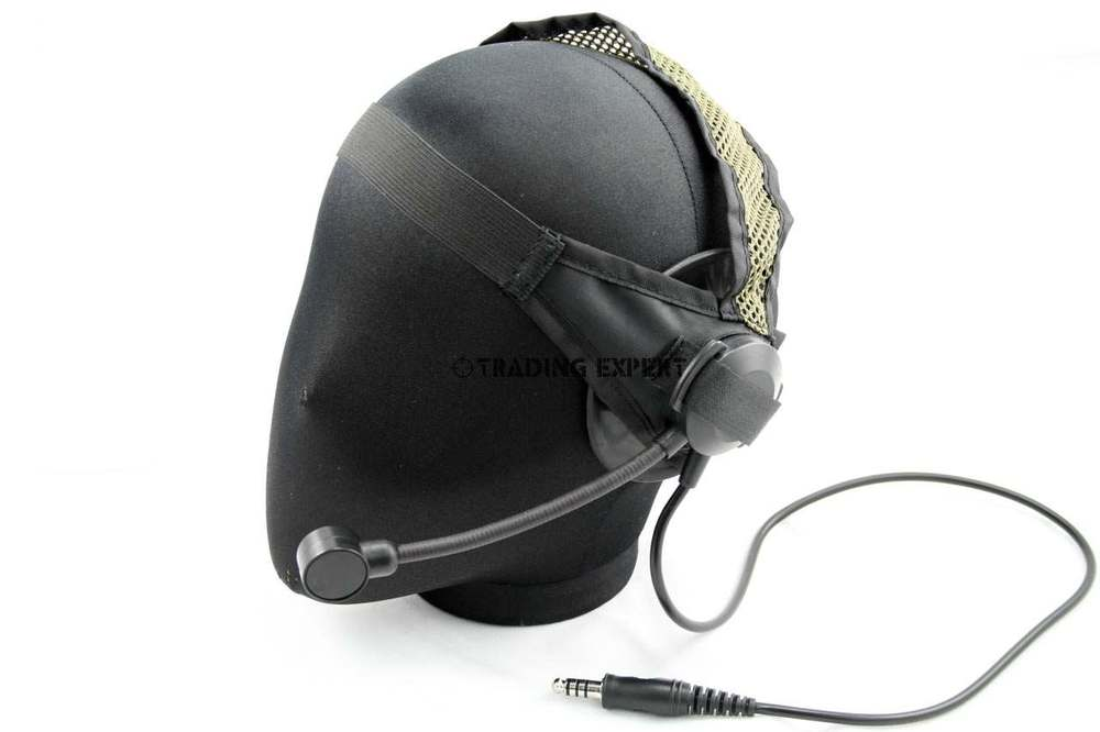Element military tactical headset Selex TASC1 Headset Black TAN EX028