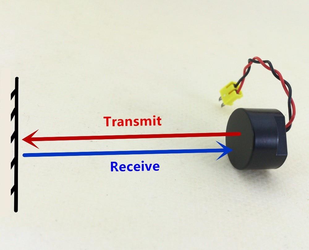 3 unids/lote 40KHZ 14MM ubicación cerrada a prueba de agua recibir transferencia sonda ultrasónica integrada Sensor de radar inverso