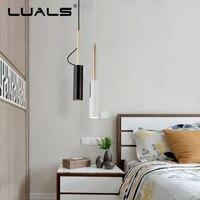 Modern Hanging Light Adjustable Aluminum Suspension Luminaire Nordic Pendant Lights Led Pendant Lamps Indoor Art Deco Lighting