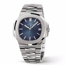 LGXIGE hommes montres haut de gamme de luxe montres hommes Quartz acier armée Patek montres chronographe AAA mâle nautilus montre-bracelet 2019