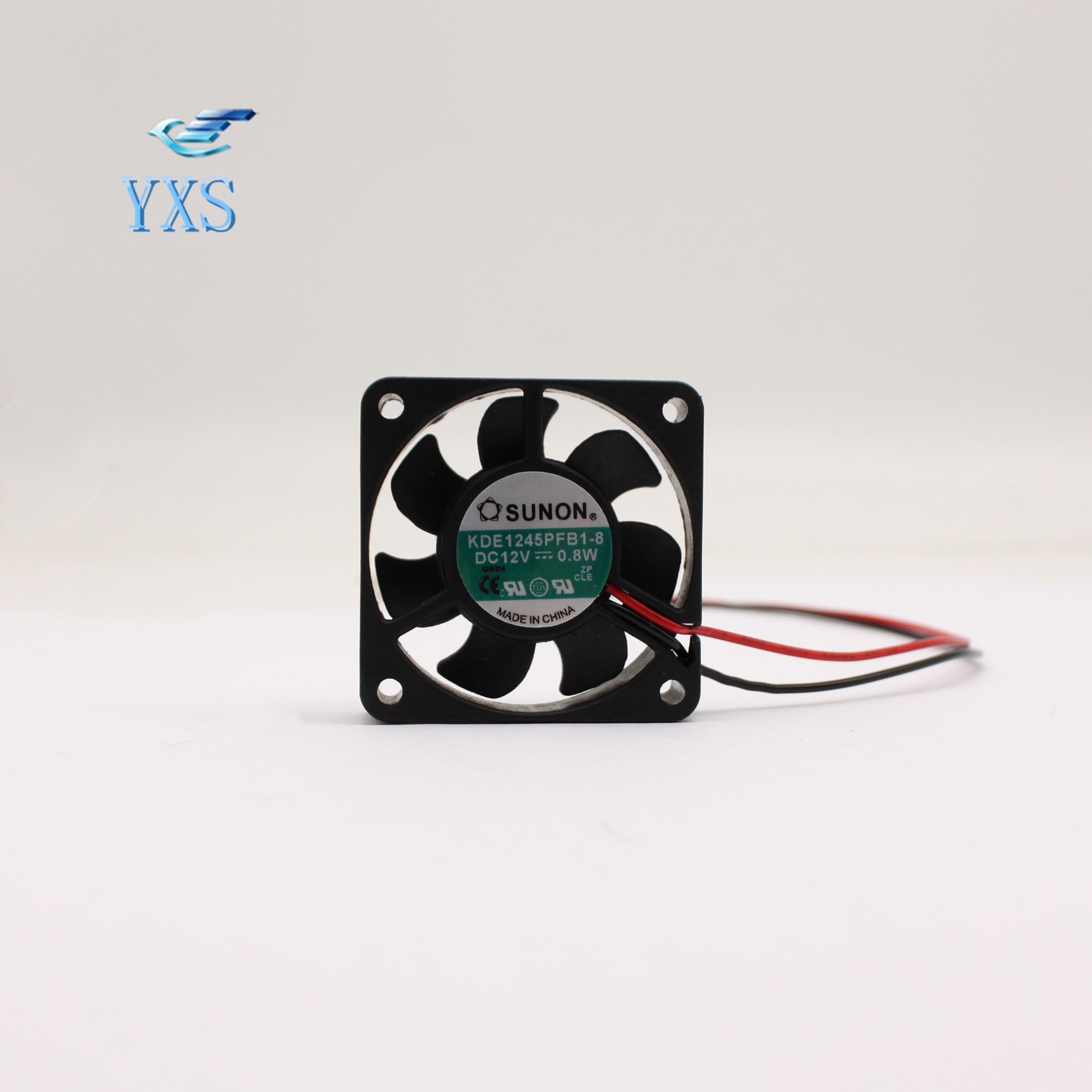 KDE1245PFB1-8 DC 12V 12V 0,8 W 4510 4CM 45*45*10mm 2 cables mudo silencioso de refrigeración ventilador