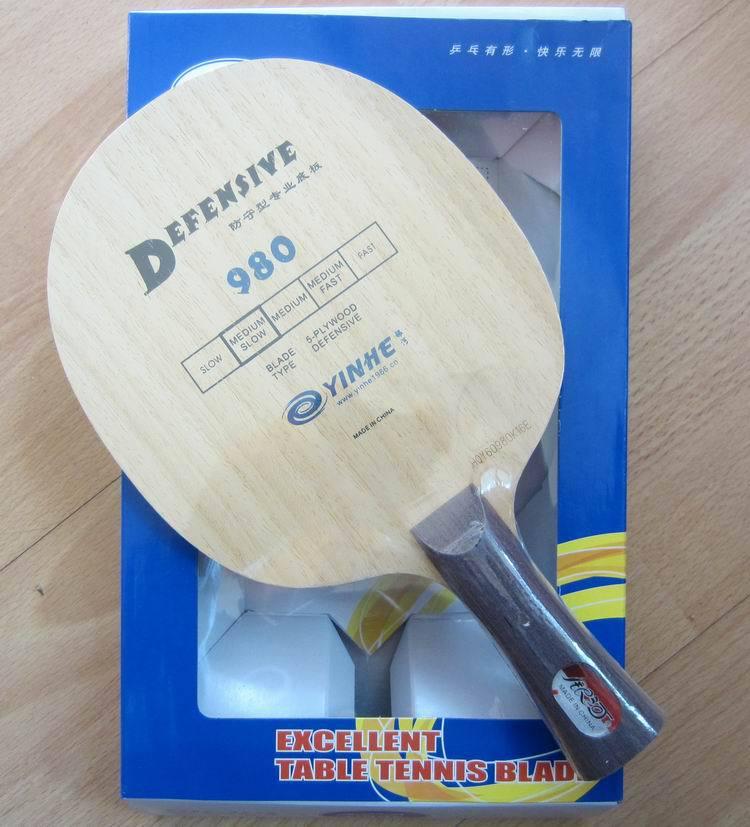 Original Vía lechosa Yinhe 980 hoja de tenis de mesa para cortar a la defensa raqueta de tenis de mesa raqueta de ping pong de deportes