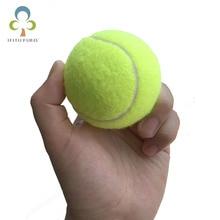 2 teile/los 6,3 cm Tennis Bälle Für Anfänger oder Hund Trainning Outdoor Fun Sport Pet Spielzeug Tennis Ball GYH