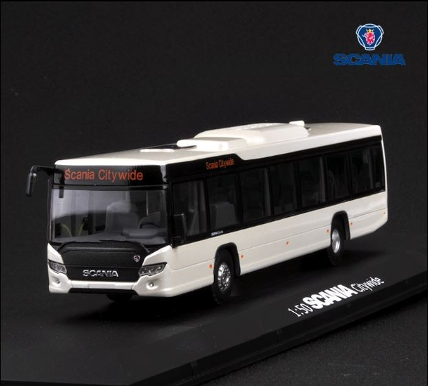 Alloy Model Gift 1:50 Scale Scania A90 City Wide Transit Bus Vehicle DieCast Toy Model for Collection Decoration alloy model 1 24 scale kinglong higer bev pure electric transit bus vehicle diecast toy model for collection decoration