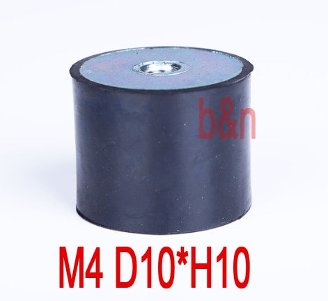 M4 hilo D10 * H10 DD amortiguador de goma hilo interno montaje de goma amortiguador absorción tornillo absorción columna de absorción