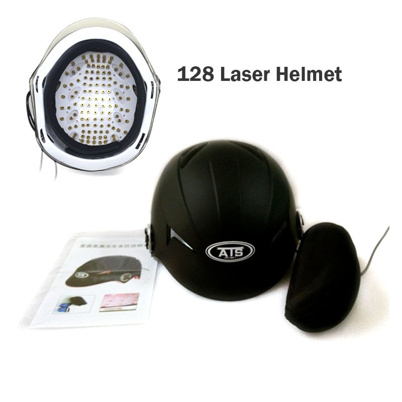 Hot! Capacete Novo Crescimento Do Cabelo do laser 64/128 Laser de Diodo Médica Dispositivo Anti Perda de Cabelo Cabelos Crescerem Tratamento O Crescimento Do Cabelo Do Laser Massagem