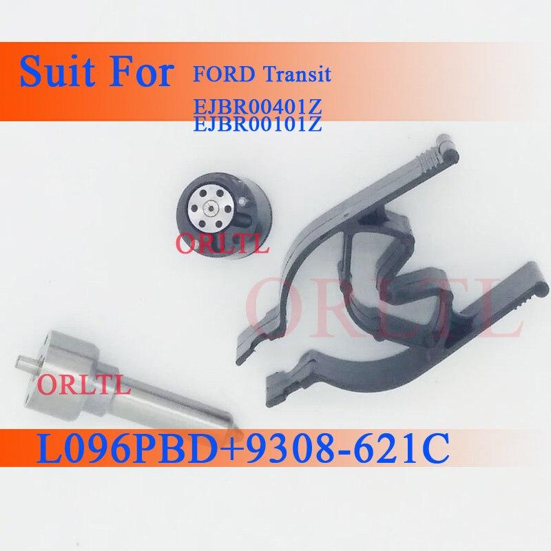 Kits de reparación ORLTL 7135-652, boquilla de válvula L096PBD 9308-621C para FORD EJDR00301Z (2S7Q9K546AJ RM2S7Q9K546AJ) ejbr001z