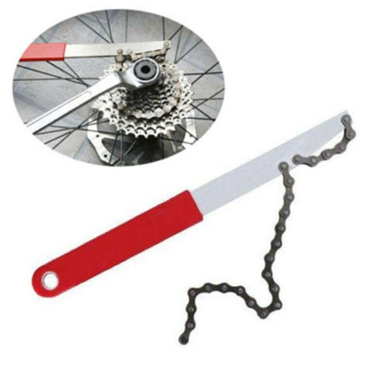 Portable Carbon Steel Bike Chain Repair Tool Whip Bottom Bracket Freewheel Wrench Remover MTB Cycling Maintance Repair Tool