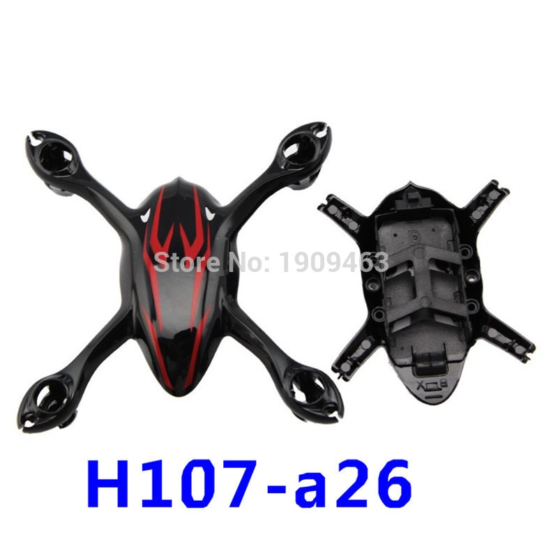 100% Original Hubsan parte H107-A26 H107C carcasa para Hubsan H107C Mini RC Qudcopter parte