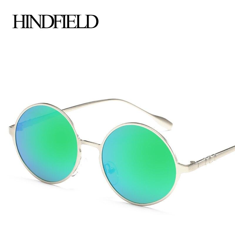 LONSY Fashion Round Steam punk Sunglasses Women Polarized Brand Design Vintage Sun Glasses For Women