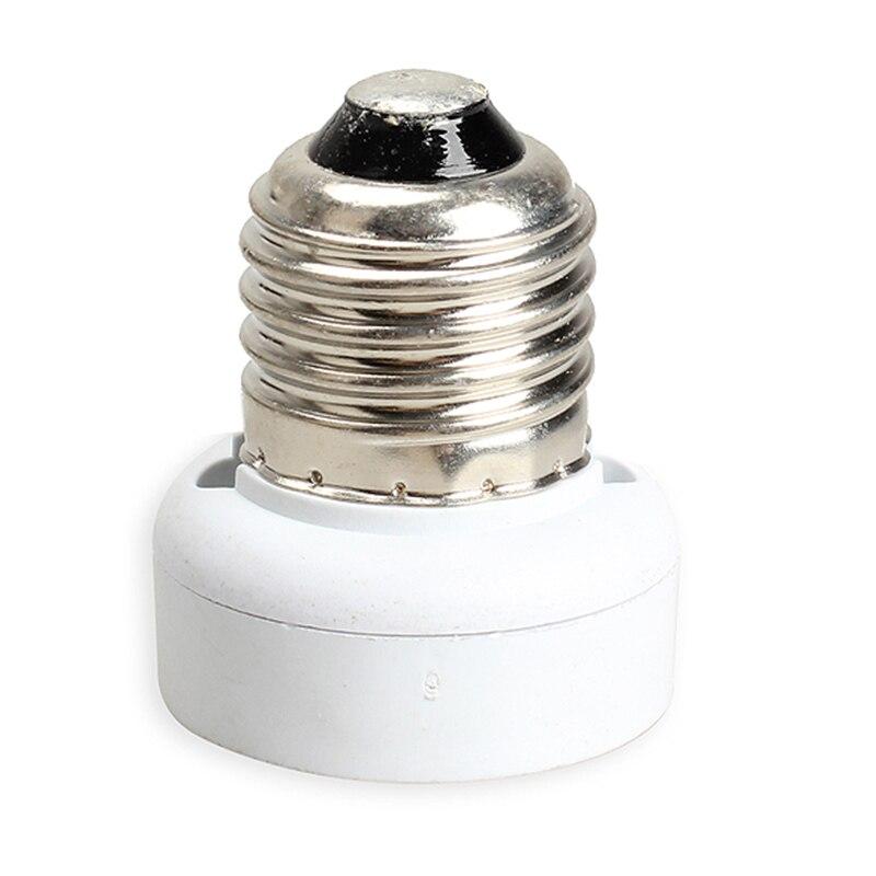 Portable E27 a GU24 lámpara bombillas soporte Adaptador convertidor H99F